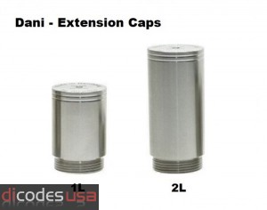 Dani Extension Caps - Dani  V3 - 22mm