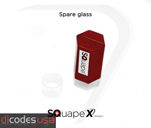 Spare borosilicate glass SQuape X[dream]